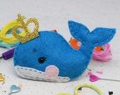 Prince Whale DIY Felt Sewing Kit