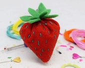 Juicy Strawberry DIY Felt Sewing Kit