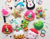 12 DIYS of Craftmas, DIY felt set, Felt Kits, sewing kits, christmas crafting, craft, felt, sewing, christmas ornaments, decorations, DIY
