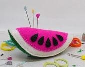Juicy Watermelon Pin Cushion DIY Sewing Kit