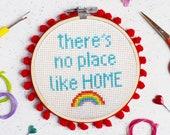 No Place Like Home Cross Stitch Craft Kit