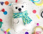 Polar Bear Decoration Kit, craft kit, crafts, diy decoration, decoration kit, ornament, gifts for her, stocking stuffer, stocking filler