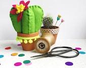 Cacti Pin Cushion DIY Sewing Kit