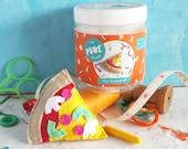 Sewing kit, pizza, secret santa, stocking stuffer, stocking filler, felt craft kit, DIY craft kit, felt sewing kit, craft kit, felt craft,