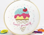 Treat Yourself Embroidery Craft Kit