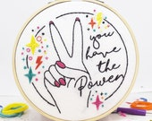 You have the Power DIY Embroidery Craft Kit