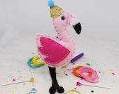 Fernando Flamingo DIY Felt Sewing Kit