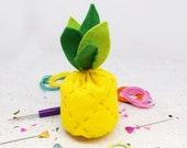 Tropical Pineapple DIY Felt Sewing Kit
