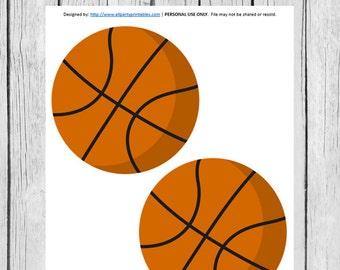 Basketball Printables, Basketball Birthday, Basketball Party, Basketball Baby Shower, Basketball PDF