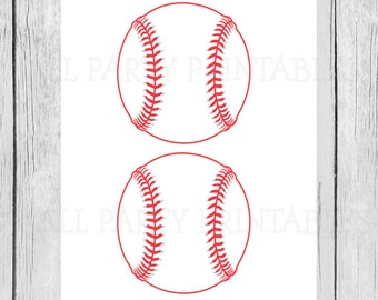 picture about Baseball Printable referred to as Baseball printable Etsy