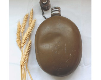 Military flask USSR Soviet Army Flask