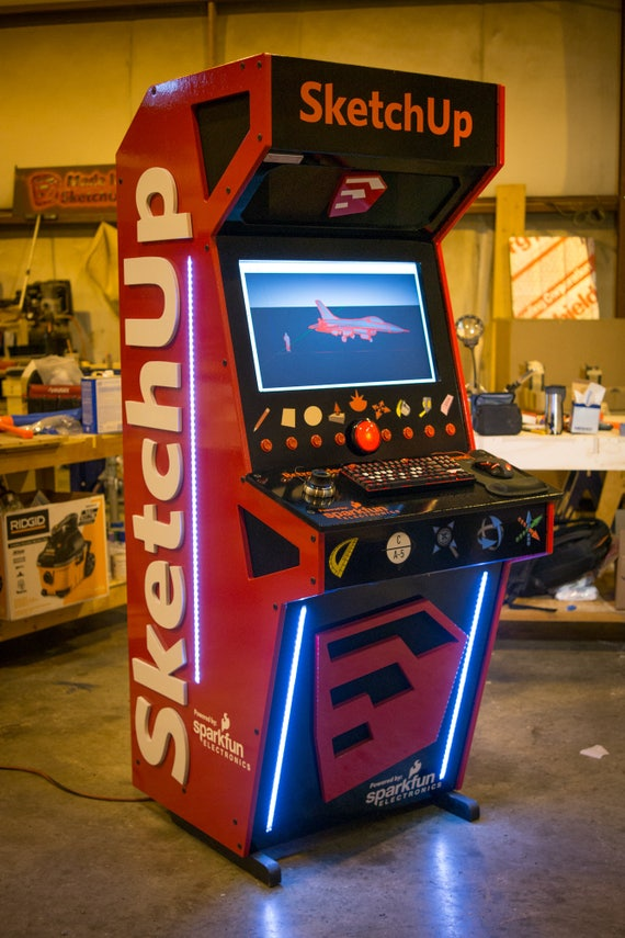 Arcade Mame Cabinet Etsy
