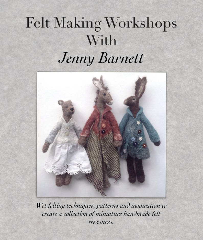 Book two 'Felt Making Workshops with Jenny Barnett' image 0