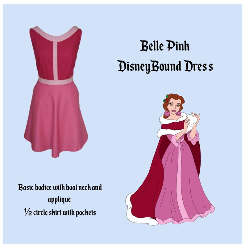 757f0ae3ed4 Belle Disney Bounding Dress. Beauty and the Beast.