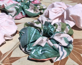 Scrunchies. Large, Up Cycled