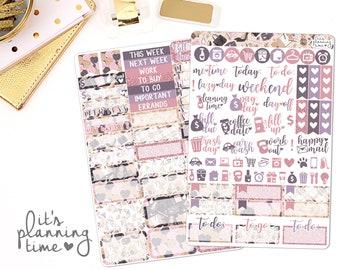 Like A Boss 2 Page Planner Sticker Kit