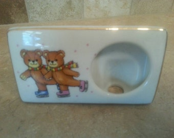 Small Frame with Skating Bears