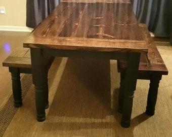 Brilliant Antique Dining Table Etsy Download Free Architecture Designs Pushbritishbridgeorg