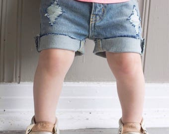 Tear-ific Thigh Shorts (can be made longer for boys)