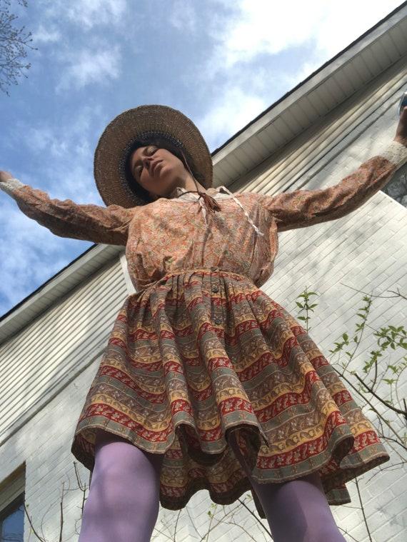 Vintage Cacharel Striped Skirt