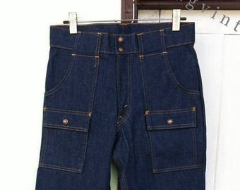 Vintage Levis 70s Bush Jeans 6 Pocket Deadstock 32x29.5