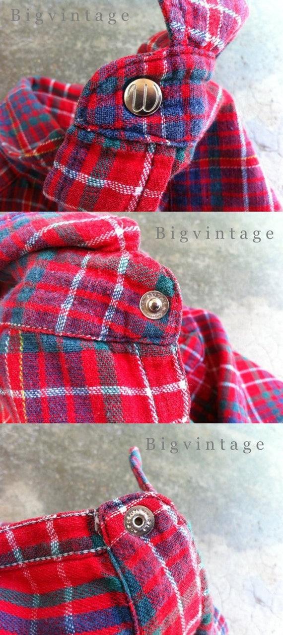 Vintage 50's WRANGLER Blue Bell Western Shirt San… - image 4