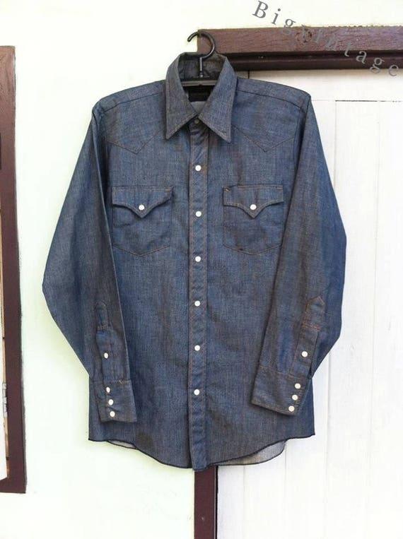 Vintage 50's Longhorn Western Shirt