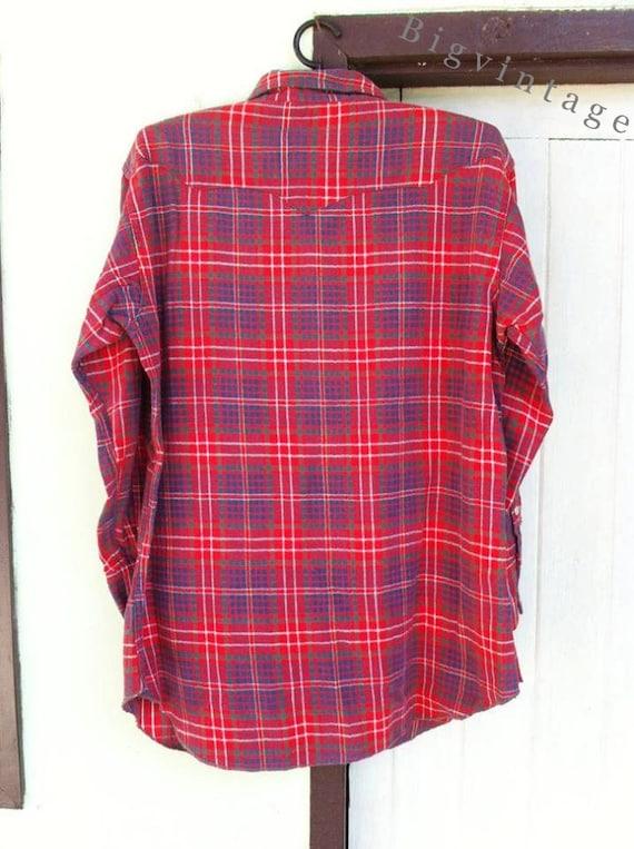 Vintage 50's WRANGLER Blue Bell Western Shirt San… - image 2