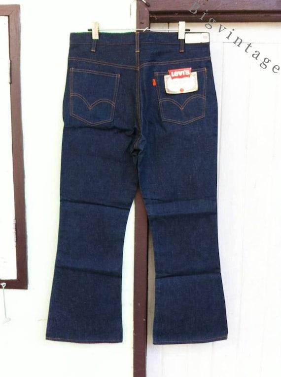 Vintage Levi's 646 Single Stitch Bell Bottoms W36