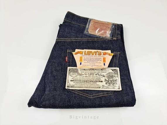 Vintage Levi's 501 Big E S Type W36 L31 Deadstock#