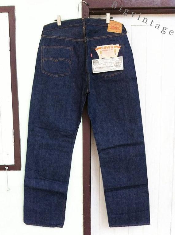 Vintage Levi's 501 Big E W40 L36 Deadstock ( 2 )