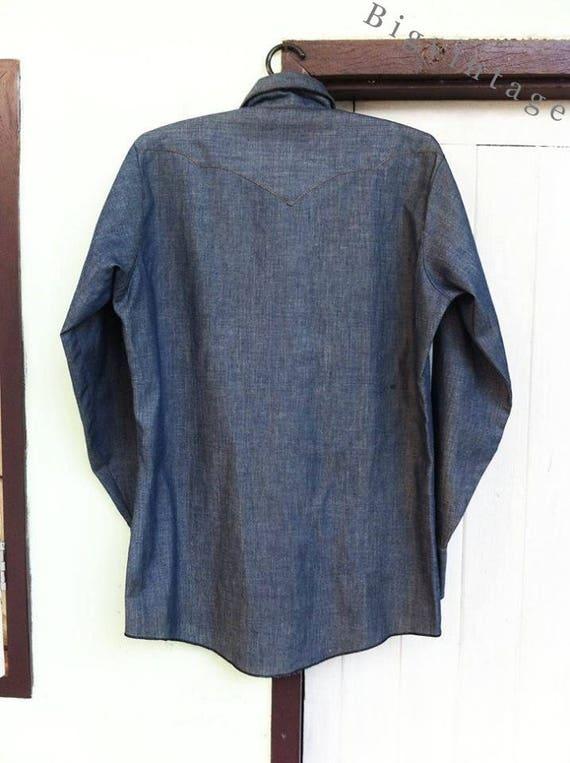 Vintage 50's Longhorn Western Shirt - image 2