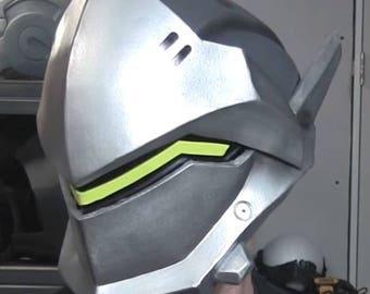 Genji Overwatch Helmet Pepakura File - Paper and Foam Templates
