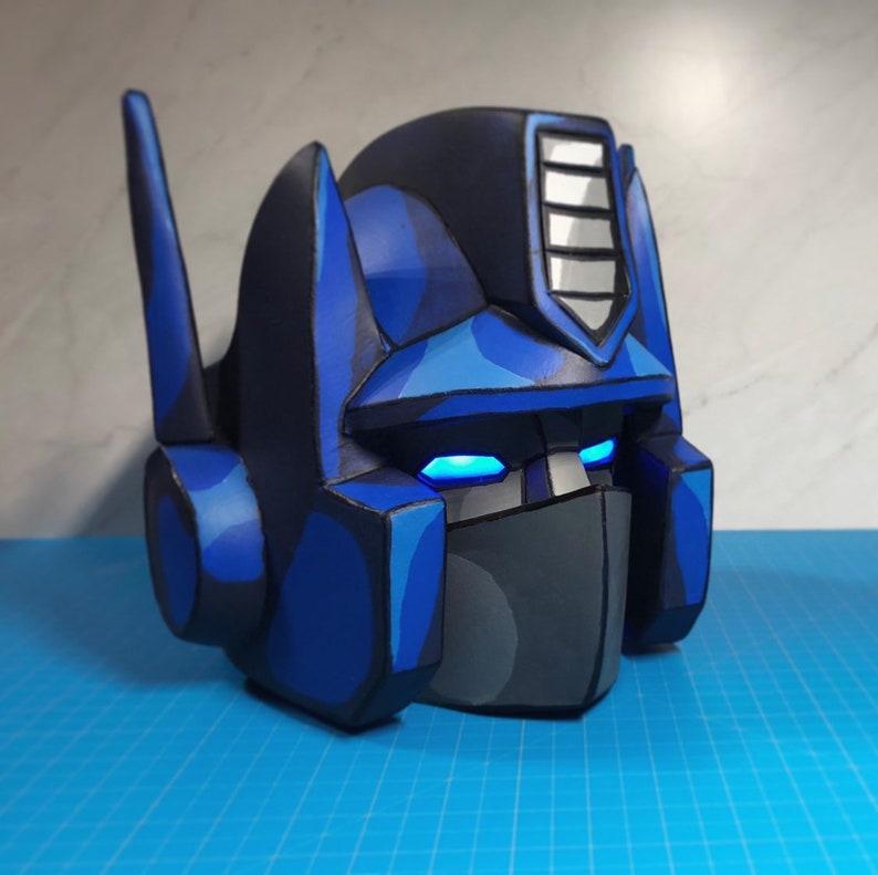 Optimus Prime - Transformers G1 Foam Helmet Pepakura File Template
