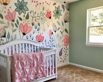 Custom Nursery Wall Mural