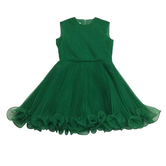 60's Chiffon Mini Dress - image 2