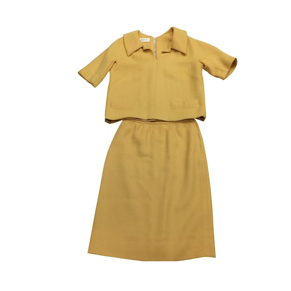 60's Yellow Wool B.H. Wragge Set (As Is)