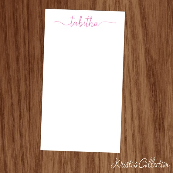Custom Notepads Memo Pads: Personalized Notepads Note Memo Pads Gift For Girls