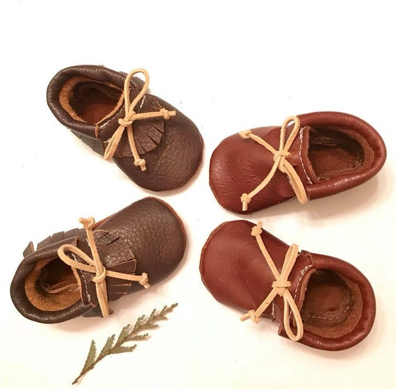 Baby Moccasins Oxford Moccasins