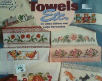 Cross Stitch Towels Etc. Instruction Booklet