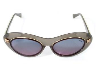68d0c4e9af20b Lunettes de soleil MISSONI sigle côté   vintage 1980-90   Missoni