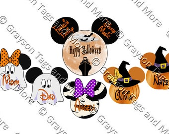 Disney Cruise Door Magnet Halloween Etsy