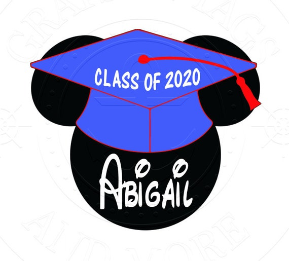 Free Shipping Graduation Disney Cruise Magnet Class Of 2019 Graduation Mouse Head Magnet
