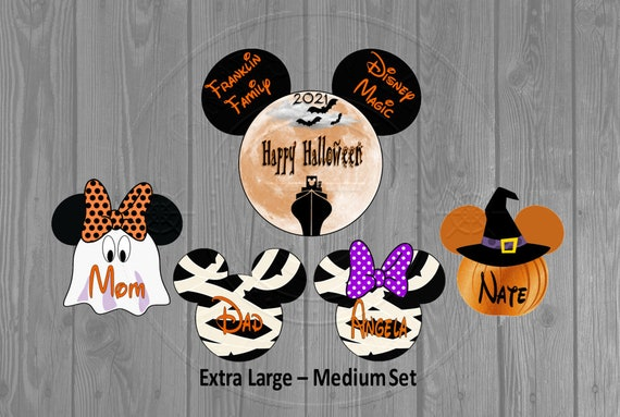 Disney Cruise Door Magnets Halloween Magnet Set Etsy