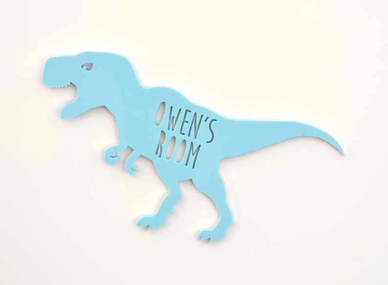 Enjoyable Dinosaur Personalised Room Door Sign Name Plate Custom Acrylic Childrens Boys Gift Baby Kids Bedroom Decor Wall Nursery Ideas Christmas Uk Home Interior And Landscaping Ologienasavecom