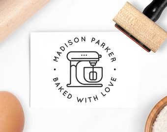Personalized Bread Bakery Shop Business Stamp custom Rubber Stamp great for bakeshop