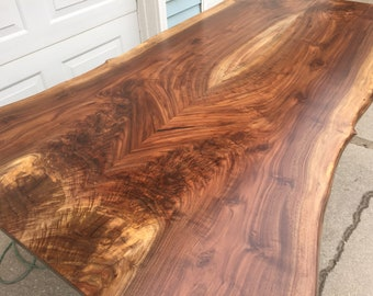 live edge wood etsy