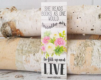 Teacher Gifts - Bookmarks - Mother's Day Giftss - Book Lover Gift - Christmas Gifts - Bookworm Gift - Gifts under 5