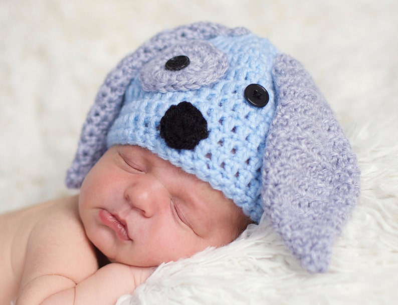 Hats & Caps Newborn Photo Prop Dog Baby Hat Dog Outfit