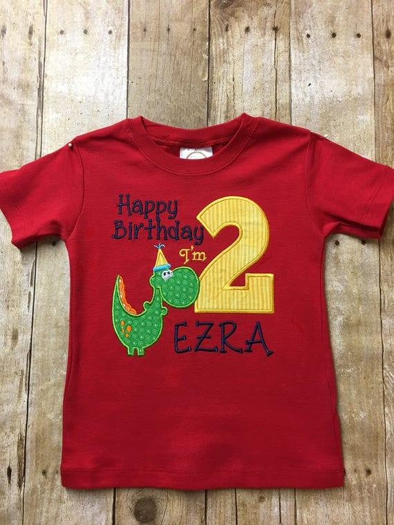 Boy Birthday Shirt 2nd